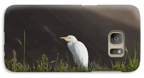 Galaxy Case featuring the photograph Egret In The City by Joshua House