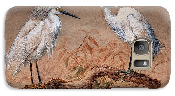 Egrets Galaxy S7 Case