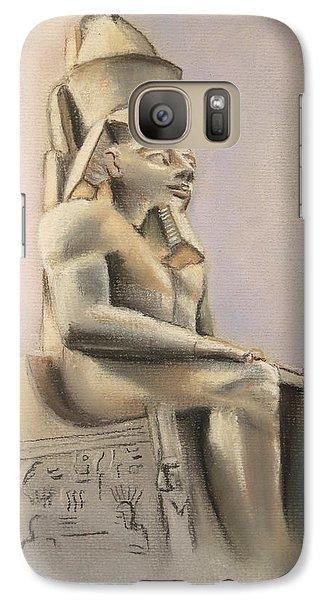 Galaxy Case featuring the pastel Egyptian Study II by Elizabeth Lock