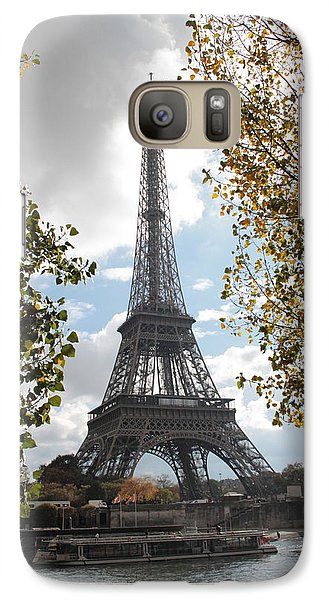 Galaxy Case featuring the photograph Eiffel From Avenue De New York by Christopher Kirby