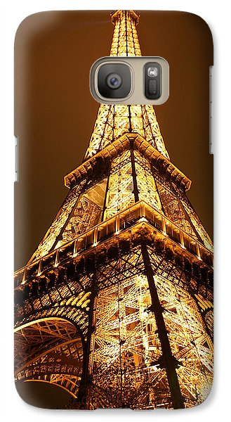 Eiffel Galaxy Case by Skip Hunt