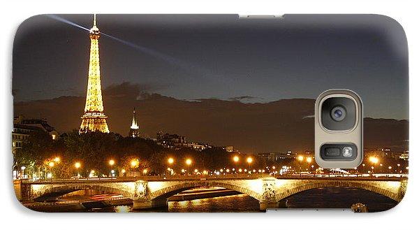 Eiffel Tower By Night Galaxy S7 Case