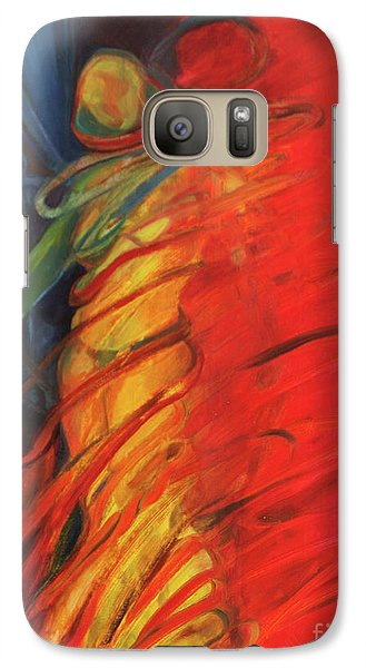 Galaxy Case featuring the painting Eight Of Swords by Daun Soden-Greene