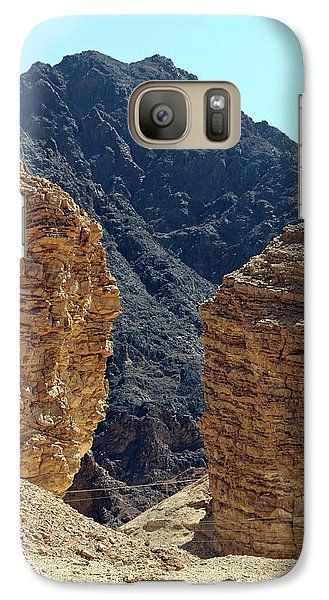 Galaxy Case featuring the photograph Eilat-israel by Denise Moore