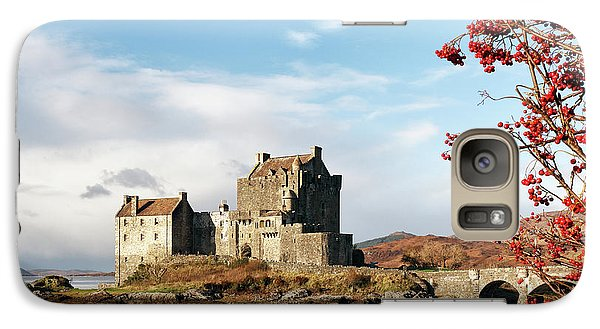 Galaxy Case featuring the photograph Eilean Donan - Loch Duich Reflection - Skye by Grant Glendinning