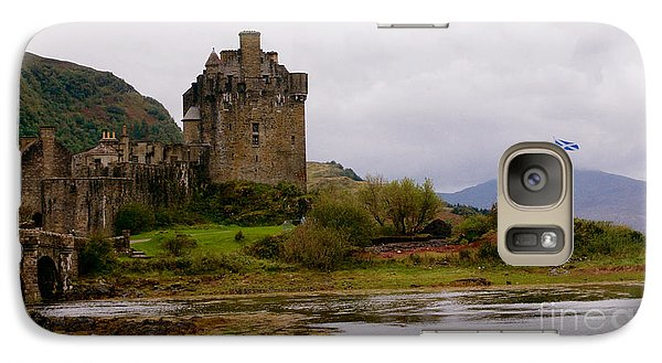 Galaxy Case featuring the painting Eilean Donan by Louise Fahy