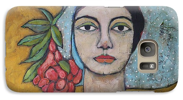 Portraits Galaxy S7 Case - Eileen by Jane Spakowsky
