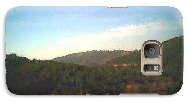 Galaxy Case featuring the digital art Ein-kerem Valley by Dr Loifer Vladimir
