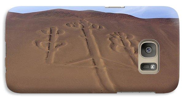Galaxy Case featuring the photograph El Candelabro Peru by Aidan Moran