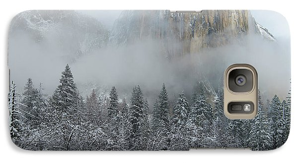 Galaxy Case featuring the photograph El Capitan Majesty - Yosemite Np by Sandra Bronstein
