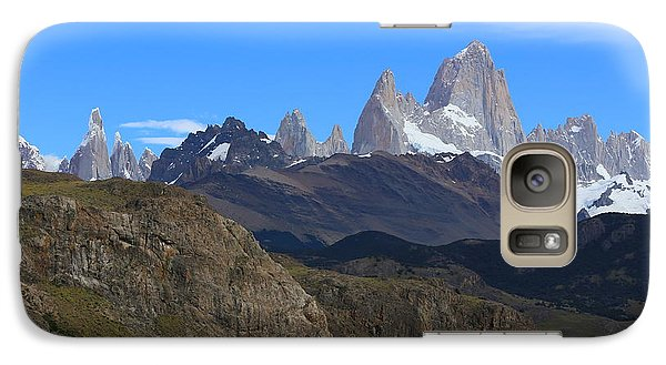 Galaxy Case featuring the photograph El Chalten by Andrei Fried