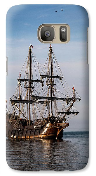Galaxy Case featuring the photograph El Galeon Andalucia by Dale Kincaid