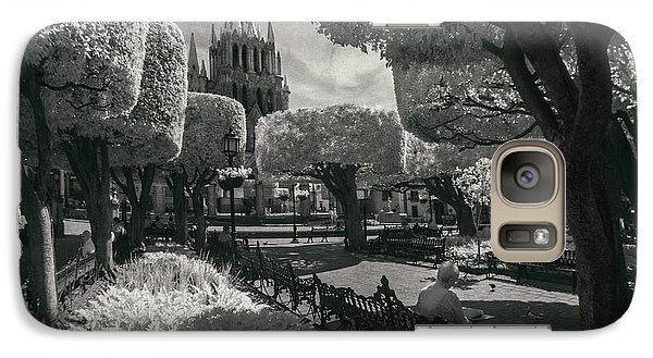Galaxy Case featuring the photograph el Jardin by Sean Foster