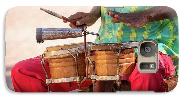 Drum Galaxy S7 Case - El Son De Cuba by Delphimages Photo Creations