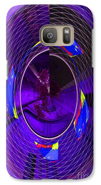 Galaxy Case featuring the photograph Electric Blue by Nareeta Martin