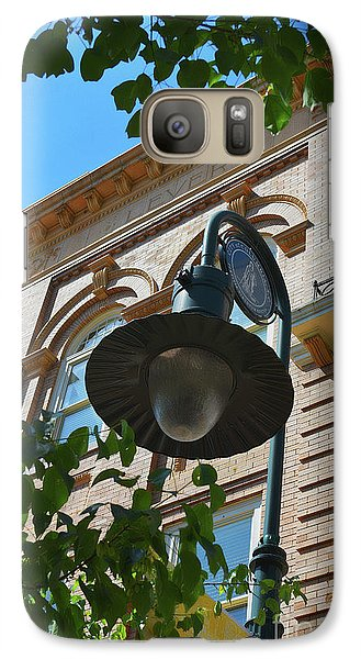 Galaxy Case featuring the photograph Electrifying  Architecture by Skip Willits