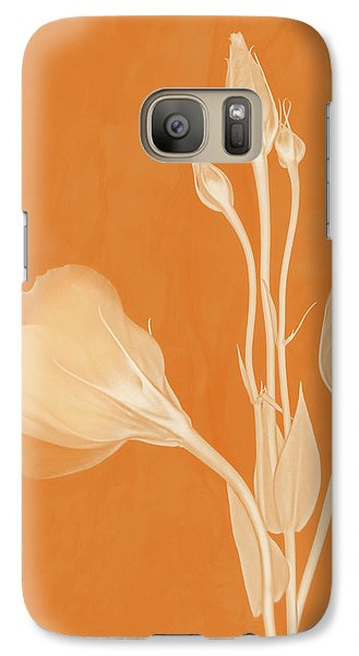 Elegance In Apricot Galaxy S7 Case