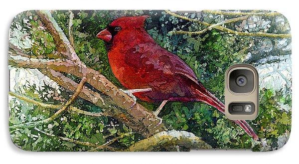 Elegance In Red Galaxy S7 Case by Hailey E Herrera