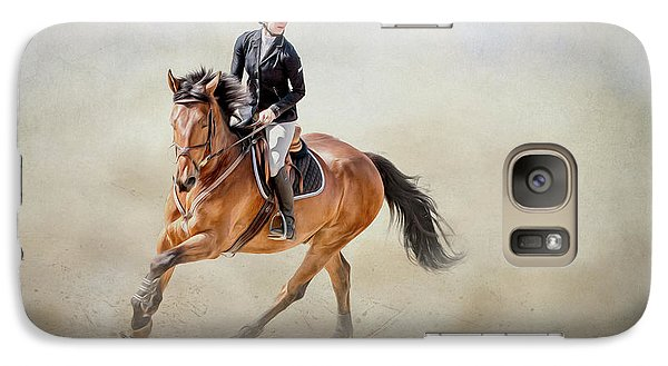 Galaxy Case featuring the photograph Elegance In The Dust by Debby Herold