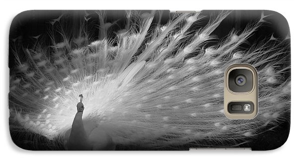 Galaxy Case featuring the photograph Elegant In White by Margaret Bobb