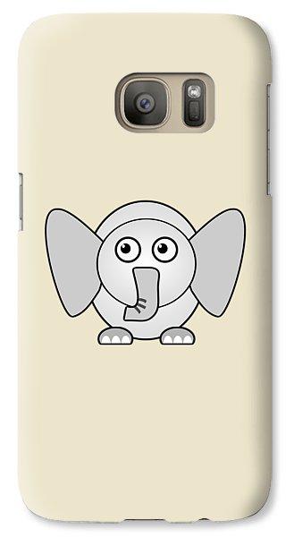 Elephant - Animals - Art For Kids Galaxy Case by Anastasiya Malakhova