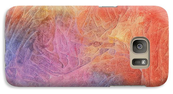 Galaxy Case featuring the painting Eleyna's Forest by Jackie Mueller-Jones