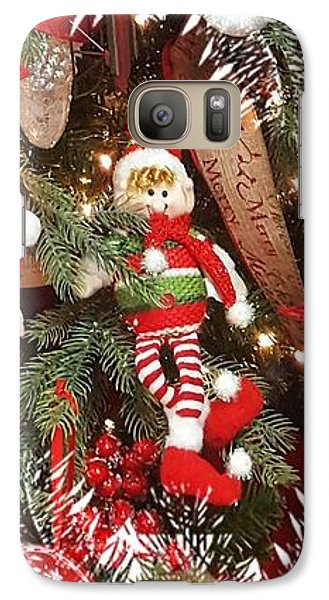 Elf In A Tree Galaxy S7 Case