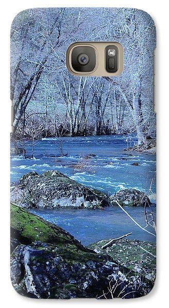 Galaxy Case featuring the photograph Elk Creek Wonderland by Marie Neder
