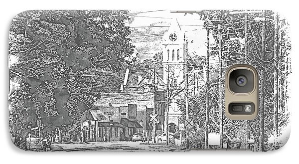Galaxy Case featuring the photograph Ellaville, Ga - 1 by Jerry Battle