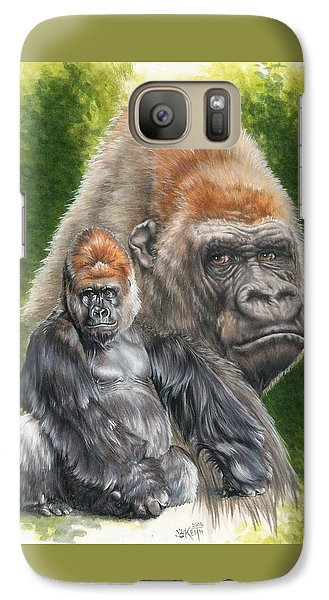 Galaxy Case featuring the painting Eloquent by Barbara Keith