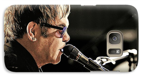 Elton John At The Mic Galaxy S7 Case