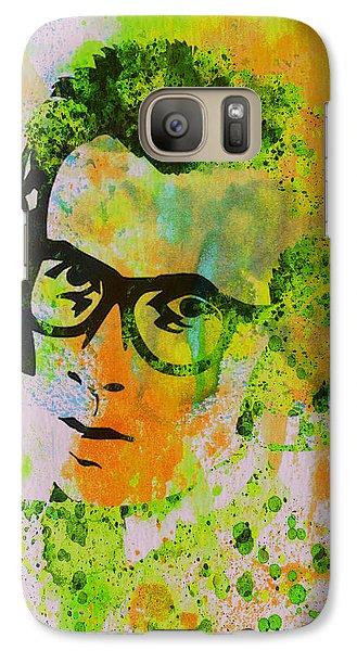 Elvis Presley Galaxy S7 Case - Elvis Costello by Naxart Studio