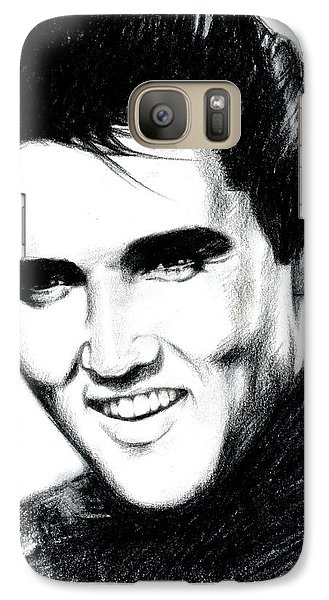 Elvis Galaxy S7 Case by Lin Petershagen
