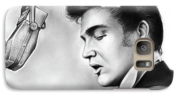 Elvis Presley Galaxy S7 Case - Elvis Presley by Greg Joens