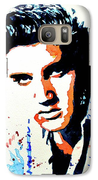 Galaxy Case featuring the painting Elvis by Steven Ponsford