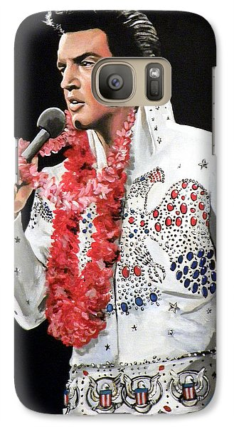Elvis Presley Galaxy S7 Case - Elvis by Tom Carlton