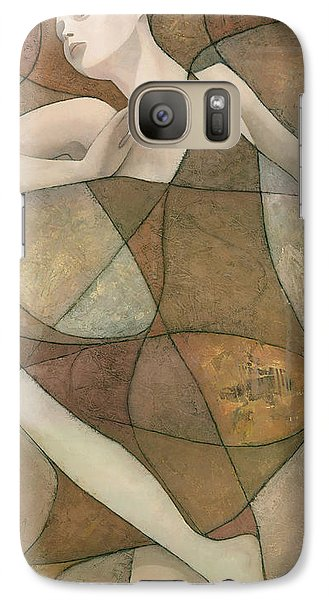 Abstract Galaxy S7 Case - Elysium by Steve Mitchell