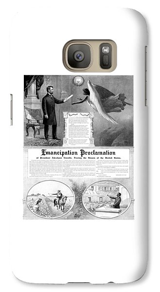 Emancipation Proclamation Galaxy S7 Case by War Is Hell Store