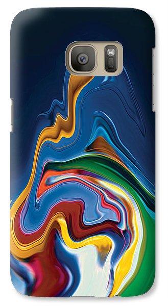 Galaxy Case featuring the digital art Embrace by Rabi Khan