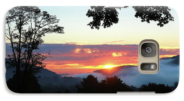 Galaxy Case featuring the photograph Embracing The Dawn by Everett Houser