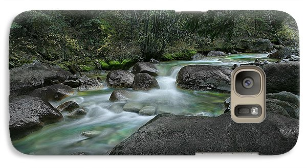 Galaxy Case featuring the photograph Emerald Forest by Tim Reaves