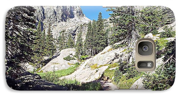 Galaxy Case featuring the photograph Emerald Lake Trail - Rocky Mountain National Park by Joseph Hendrix