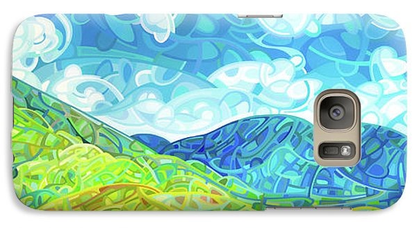 Emerald Moments Galaxy S7 Case by Mandy Budan
