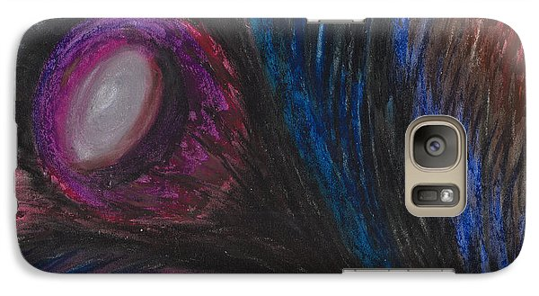 Galaxy Case featuring the painting Emerging by Ania M Milo