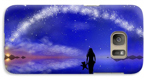 Galaxy Case featuring the digital art Emily's Journey Part 1 by Bernd Hau