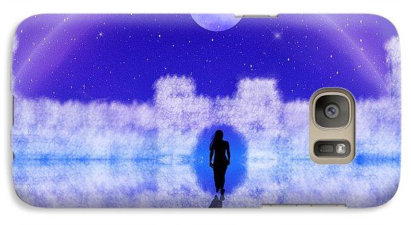 Galaxy Case featuring the digital art Emily's Journey Part II by Bernd Hau