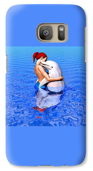 Galaxy Case featuring the painting Emissaries by Robby Donaghey