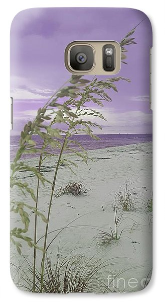 Emma Kate's Purple Beach Galaxy S7 Case