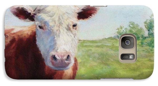 Galaxy Case featuring the painting Emmett by Vikki Bouffard