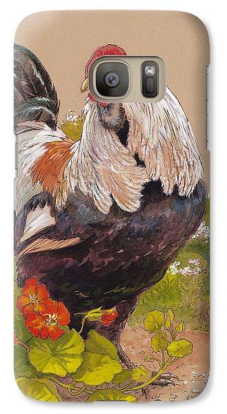 Chicken Galaxy S7 Case - Emperor Norton by Tracie Thompson